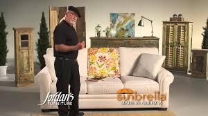 Sunbrella Indoor Sofa by Sunbrella At Jordan U0027s Furniture Youtube