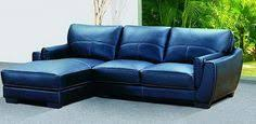 Navy Blue Leather Sofa Navy Blue Style Leather Sofa Picture Livingroom
