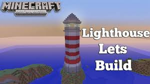 minecraft xbox 360 lighthouse lets build youtube