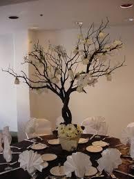 tree centerpieces tree centerpieces achor weddings