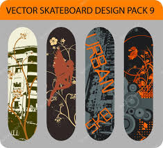 Skateboard Design Pack 9 U2014 Stock Vector Alexciopata 6437571