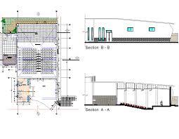 auditorium design cad dwg cadblocksfree cad blocks free