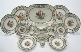 chinese rose part dinner service set of 39 by copeland spode on artnet