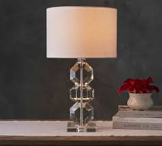 Crystal Desk Lamp by Brooklyn Faceted Crystal Table Lamp Pottery Barn