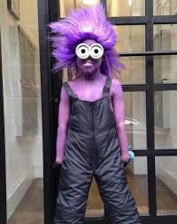 Minion Halloween Costume Ideas Cool Purple Minion Halloween Costume Ideas Purple Wig Halloween