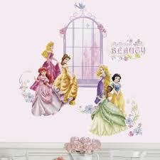 disney princess wall sticker all home design ideas cute image of removable disney princess wall decals