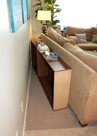 console table behind sofa against wall sofa table design behind the sofa table awesome contemporary