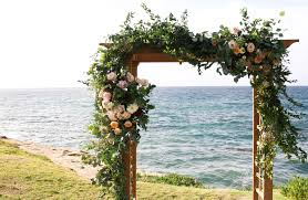 wedding arches san diego a small and intimate san diego wedding dreamers and