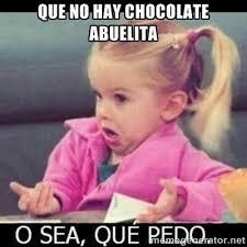 Charlie Chocolate Meme - spanish meme no candy chocolate at grandma s house what gives no