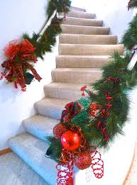 Christmas Banisters Christmas Boughs Trees Of Cards And Tabletops Of Spirit
