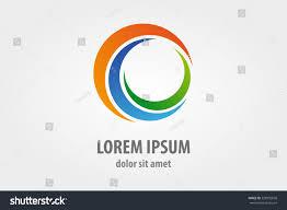 vector logo design element business card stock vector 228995650