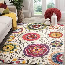 7 X 11 Area Rugs Amazon Com Safavieh Monaco Collection Mnc233a Modern Colorful