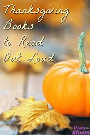 thanksgiving books to read out loud students and