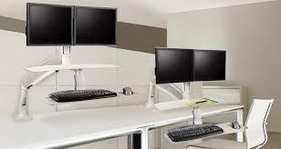 Sit Stand Desk Adapter Ergo Home Ergoprise