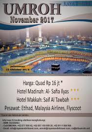 Armchair Tourist Design Ideas Paket Umroh November 2017 Harga Rp 16 Jt Pelunasan 10