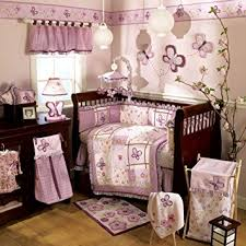 amazon com cocalo sugar plum 6 piece crib bedding set baby