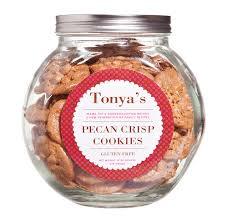 tonya s cookies pecan crisp cookie jar