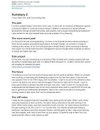professional summary exle for resume resume professional summary sle topshoppingnetwork