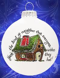 house personalized ornament
