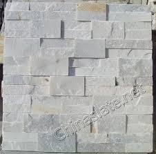 p014 light white white grey pink cultured stone slate ledge wall