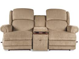 Rocking Reclining Loveseat With Console La Z Boy Kirkwood Three Power Recline Xr Reclining Loveseat With