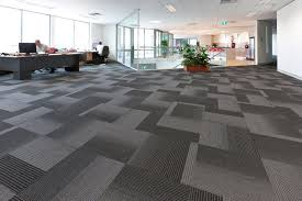 decoration room with commercial carpet tiles