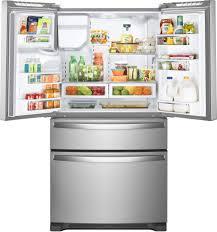 Whirlpool Inch French Door Refrigerator - whirlpool wrx735sdhz 36 inch 4 door french door refrigerator with
