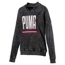 womens puma sweatshirts puma hoodies puma clothing puma com