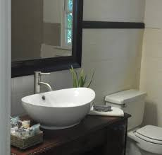 How To Install A Bathroom Sink And Vanity by Bathroom Vanity With Vessel Sink 4 Steps With Pictures
