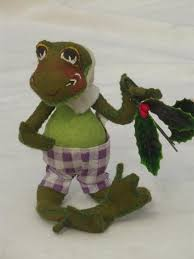 annalee felt dolls santa mouse mice frog ornaments