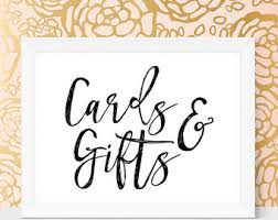 wedding gift table sign wedding gift table etsy