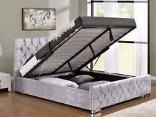 solid wood built in under storage bed frames u0026 divan bases ebay