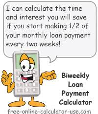 how to calculate monthly loan payments monthly to biweekly loan payment calculator with extra payments