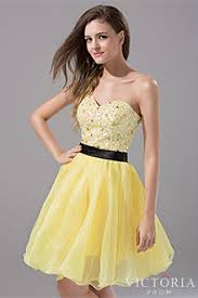 yellow poofy prom dresses victoriaprom com