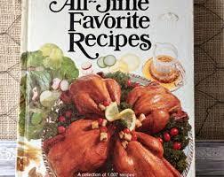 hardcover cookbook etsy