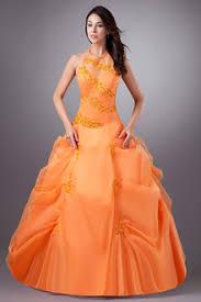 bright orange quinceanera dresses kevinsprom com