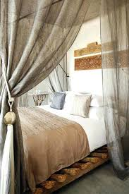 Sheer Bed Canopy Curtains For Canopy Bed Canopy Sheer Curtains Evideo Throughout