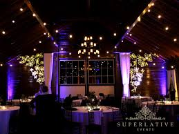 mount ida farm wedding lighting monogram uplighting texture lights