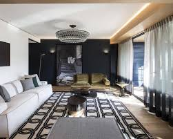 claude cartier studio design a stylish apartment in the french