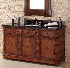 60 Single Bathroom Vanity Mediterranean Style Bathroom Vanities A More Exotic Antique Vanity