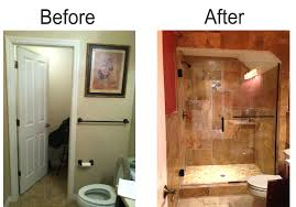 Bathroom Remodels Before And After Beautiful Cottage Style Bathroom Makeover For Alluring Remodel