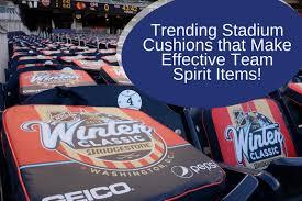 trending stadium cushions that make effective team spirit items