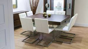 Wooden Square Dining Table Modern Square Dining Table For 8 Home Furniture