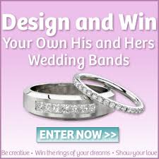 win a wedding ring design win your wedding bands the