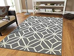 Green Trellis Rug Amazon Com Gray Moroccan Trellis 2 U00270x3 U00270 Area Rug Carpet Grey And