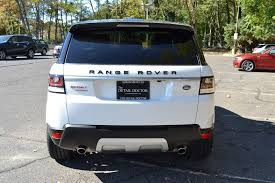 land rover white black rims 2015 land rover range rover sport pre owned