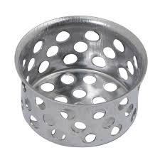 Stainless Steel Kitchen Sink Strainer - shop brasscraft 1 in chrome stainless steel kitchen sink strainer