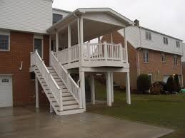 Front Porch Awnings Front Porch Stunning Decorating Ideas Using Round Black Glass