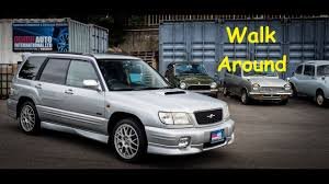 subaru forester car 2001 subaru forester sti 2 japan car auction purchase youtube