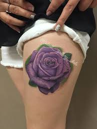 26 best believe purple and rose tattoo images on pinterest